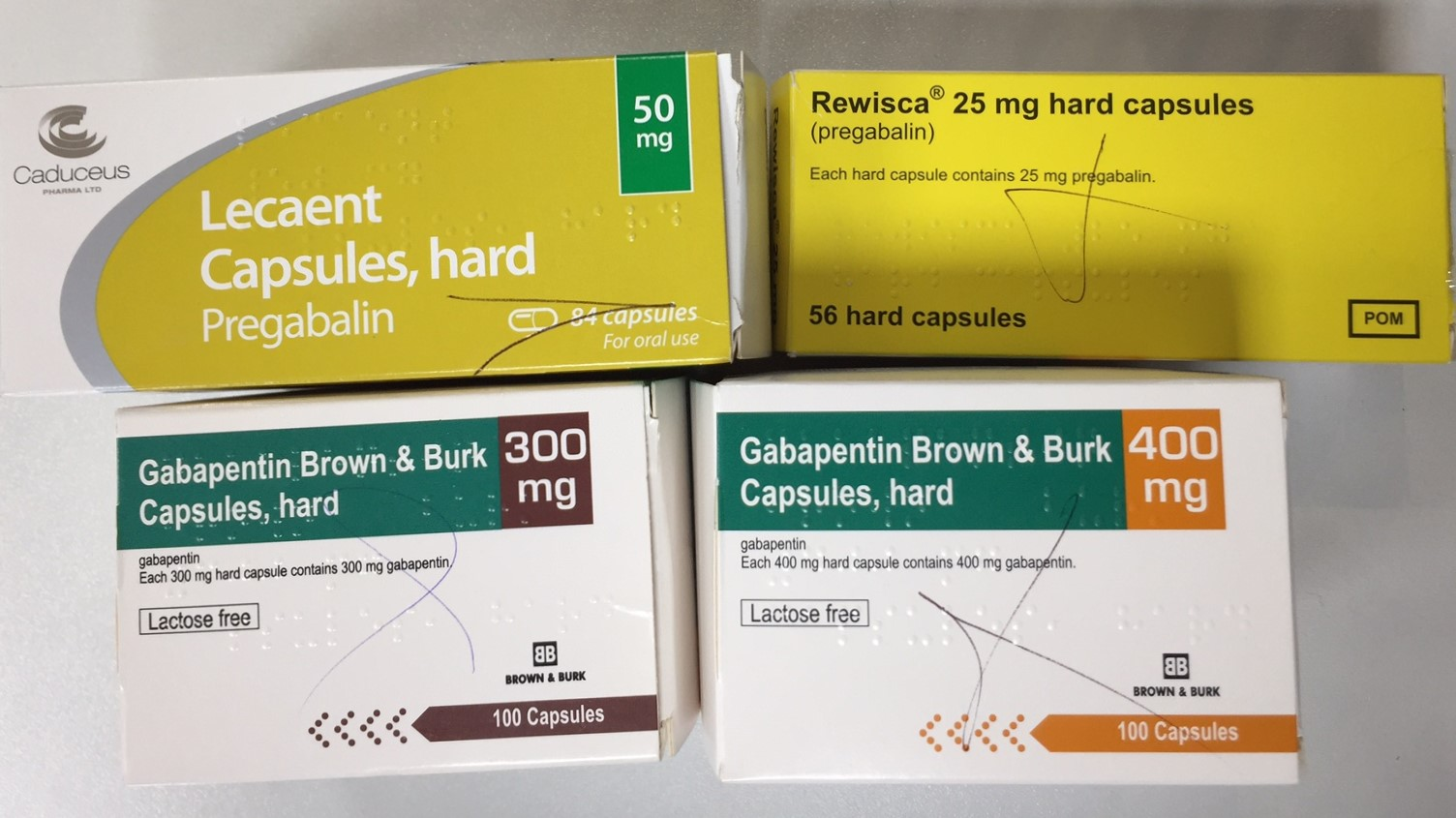 Gabapentin and Pregabalin become Controlled Drugs 1st April 2019
