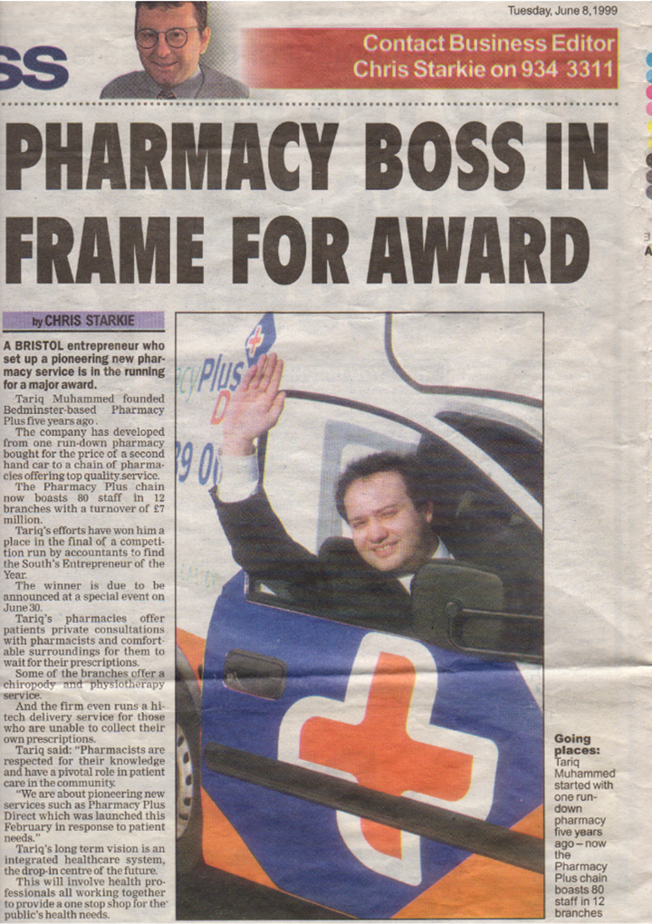 News article Pharmacy Plus 2