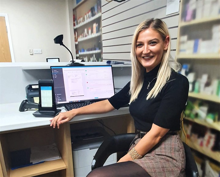 Titan_New_Marketing_Manager_Chloe_Spring_Pharmacy_image_laptop